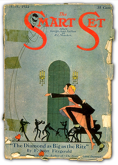 f scott fitzgerald the diamond as A vintage shorts short story month selection the fantastical story by beloved jazz age writer, f scott fitzgerald a dark and gleaming fairy tale about the excesses of wealth and the promise of the american west selected from fitzgerald's exuber.