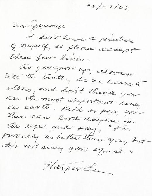 Harper lee writing style