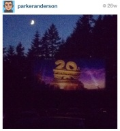 """JUNE: """"Drive in Movie"""" It is still a real experience, still exactly the same as you remember it."""