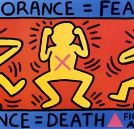 keith-haring-ignorancefear