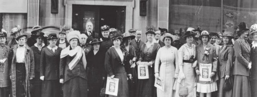 In 1910, Washington established voting rights for women, which changed the political atmosphere in Seattle considerably. Vice was a significant issue to the new female voters. Mayor Hiram C. Gill's supporters attempted to conduct the recall before these new rights were enacted, but they were unsuccessful. Mayoral Candidate George W. Dilling's supporters even established a campaign headquarters for women. Gill's supporters responded by rallying box-house girls to the polls. Dilling won the election by a comfortable lead, the majority of the nation's newspapers crediting the female vote with Gill's defeat.