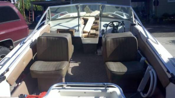 jacked up boat