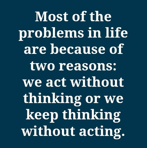thinking quote