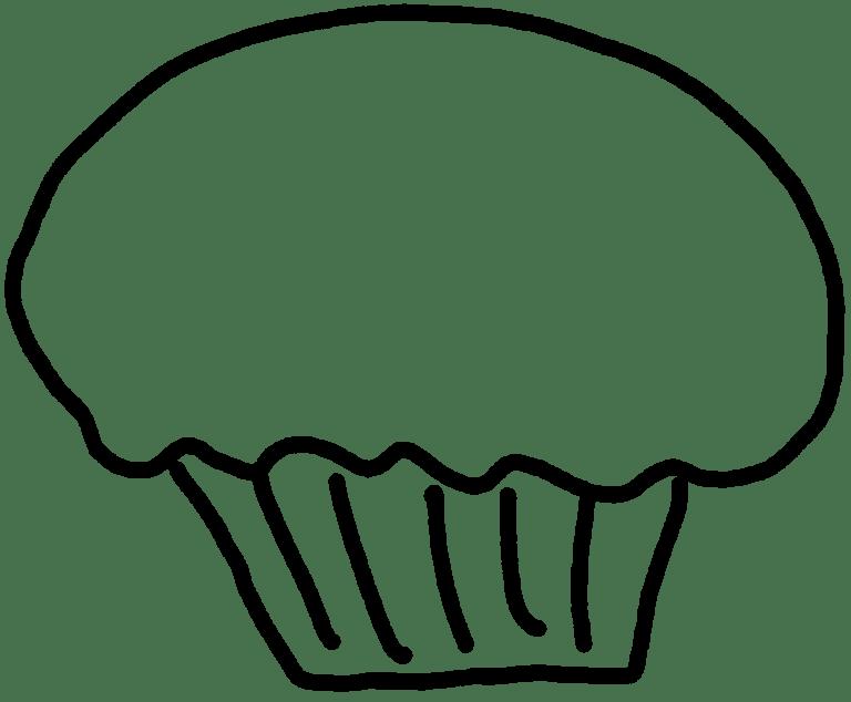 black-white-cupcake-clipart