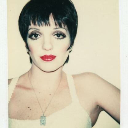 Liza Minnelli, 1977 Collection of The Andy Warhol Museum, Pittsburg
