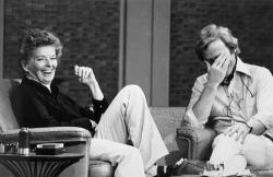 Katharine Hepburn on