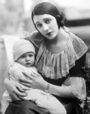 Barbara La Marr and her son, Marvin