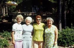 Alice, Dora, Ani, Alfa, & and in the background on the deck: Waldina.