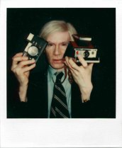 andy warhol selfie polaroid