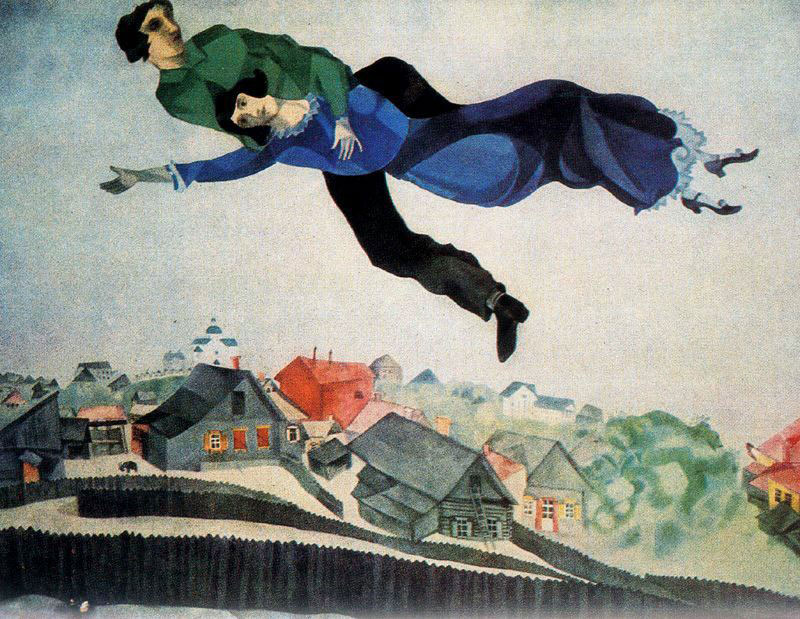 Happy 131st Birthday Marc Chagall Waldina