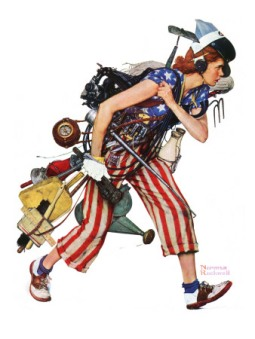 norman rockwell 4th july 1