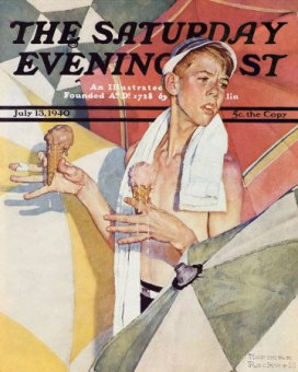 norman rockwell 4th july 3