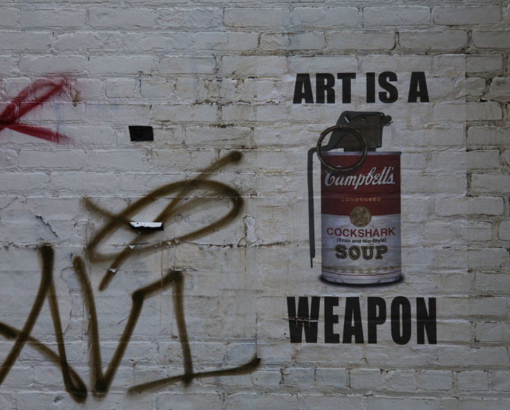 art is a weapon