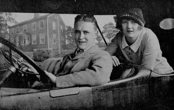 f_scott_fitzgerald_in_car