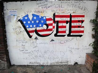 vote graffiti 1