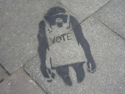 vote graffiti 4