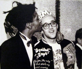 jean-michel and keith haring