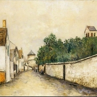 Happy 136th Birthday Maurice Utrillo