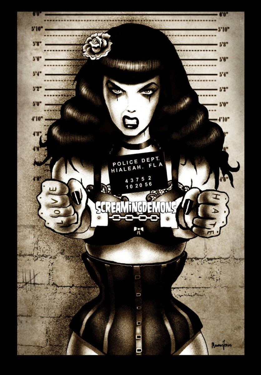 bettie page 2008