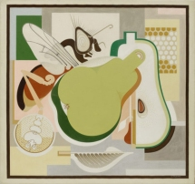 """""""Wasp and Pear"""" by Gerald Murphy"""