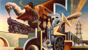 AXA EQUITABLE METROPOLITAN MUSEUM OF ART THOMAS HART BENTON