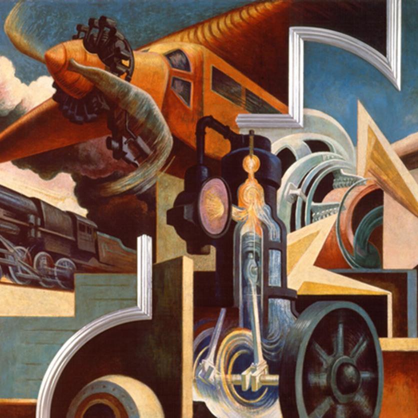 AXA EQUITABLE METROPOLITAN MUSEUM OF ART THOMAS HART BENTON
