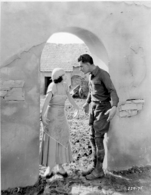 """""""The Big Parade"""" MGM 1925 staring John Gilbert and Renée Adorée"""
