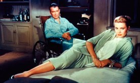 Rear Window - James Stewart and Grace Kelly
