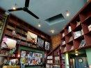 bauhaus books and coffee interior
