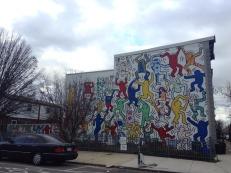 haring street art 1