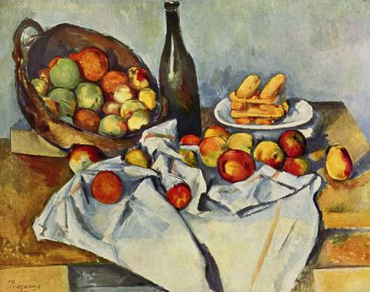 cezanne Basket of Apples