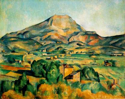 cezanne Mont Sainte-Victoire