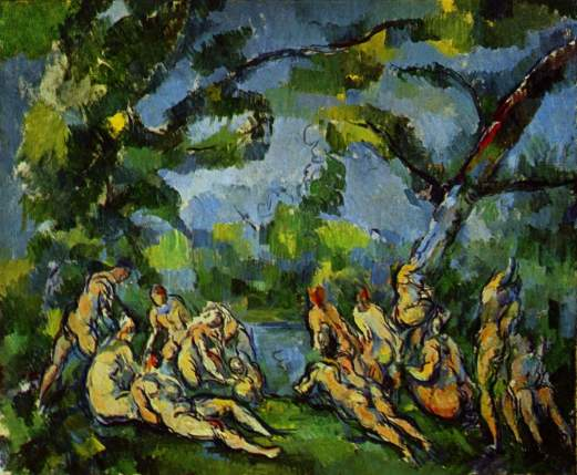 cezanne The Bathers