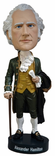hamilton bobble head