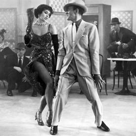 Cyd CHARISSE und Fred ASTAIRE in 'Vorhang auf!', 1953