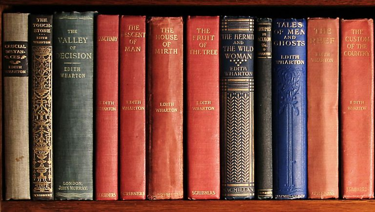 edith warton books