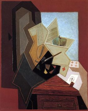 juan gris the panters window