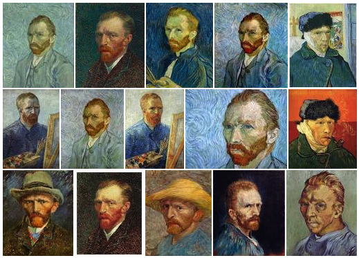 Van Gogh Self Portraits