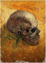 Title: Skull Artist: Vincent van Gogh Dated: Winter, 1887 - 88 Location: Van Gogh Museum, Amsterdam