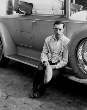 buster keaton car