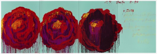 "Cy Twombly ""The Rose IV"" (2008)"