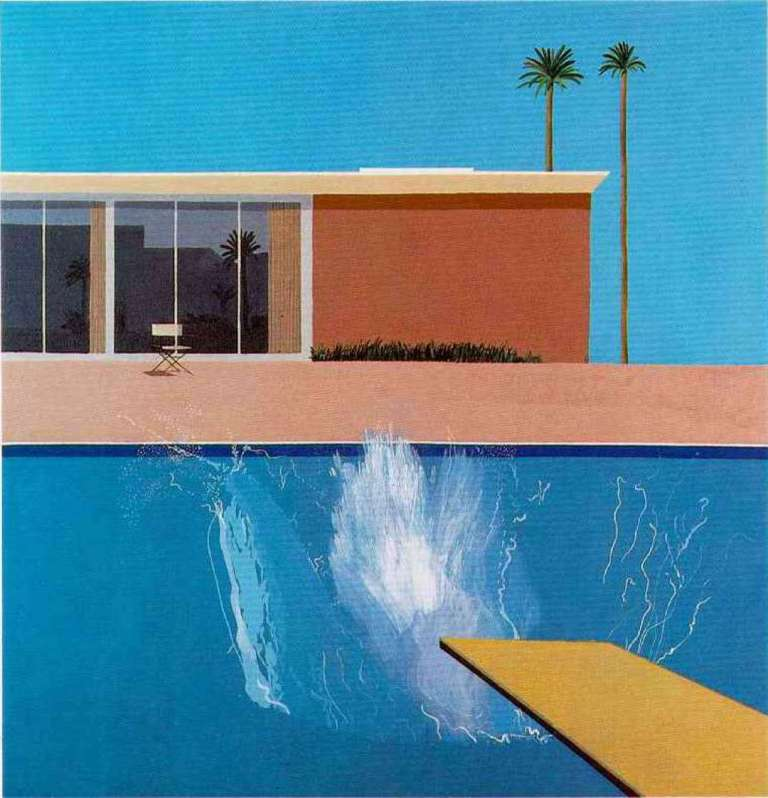 "David Hockney ""Dive In"""