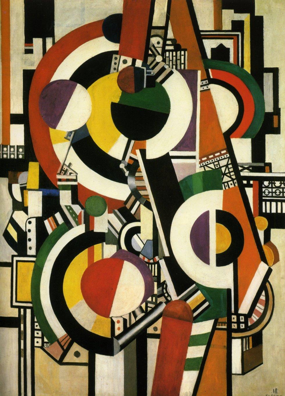 """Fernand Leger """"Discs"""" (1918)"""