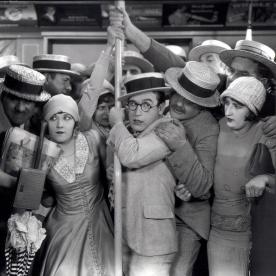 Harold Lloyd in SPEEDY (1928). Courtesy Harold Lloyd Entertainme