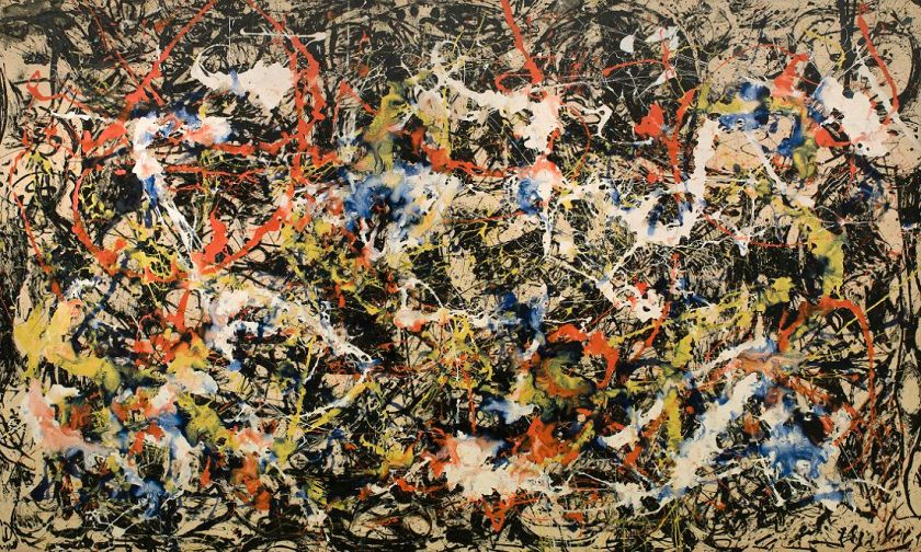 "Jackson Pollock ""Convergence"" (1952)"