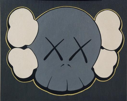 "KAWS ""Skull Painting"" (1999)"