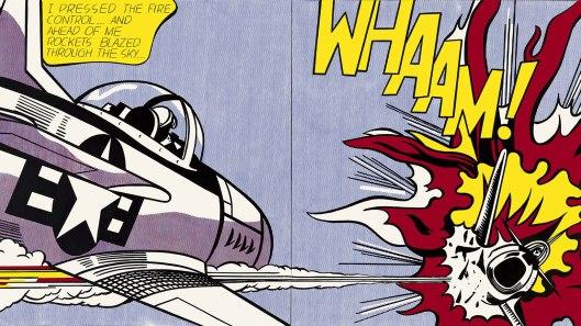"""Roy Lichtenstein """"Wham"""" (1963)"""