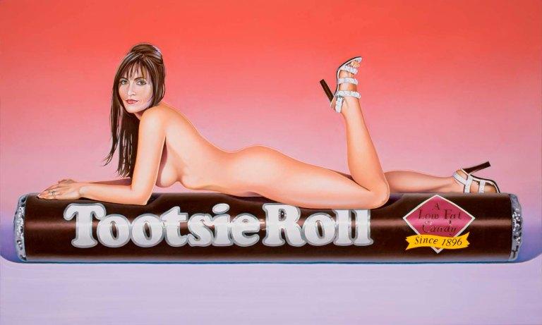 "Mel Ramos ""Tootsie"" (2007)"