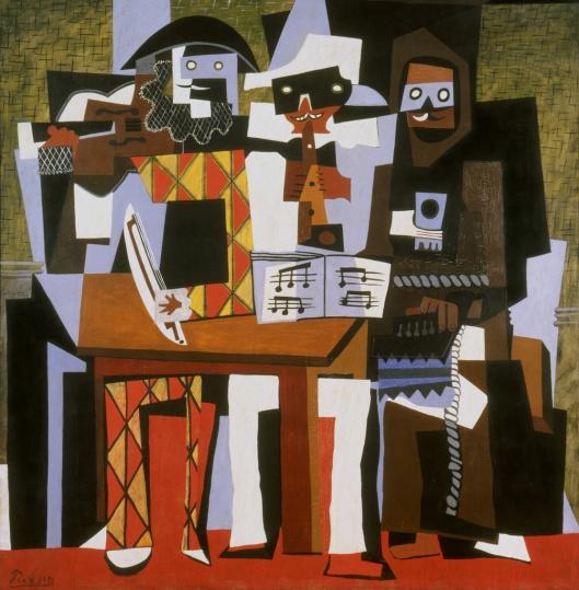 "Pablo Picasso ""Three Musicians"" (1921)"