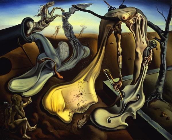 "Salvador Dali - ""Daddy Longlegs of the Evening — Hope!"""